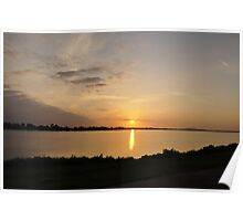 Sunrise on the Estuary Poster