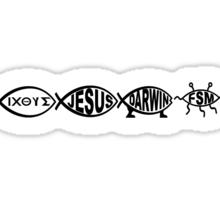 EVOLVING ICONS DNA Sticker