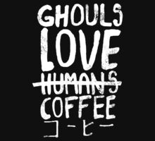 Ghouls love coffee Kids Clothes