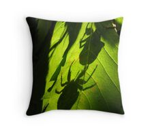 Exoskeleton. Throw Pillow