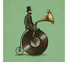 Music Man (green colour option) Photographic Print