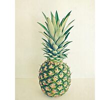 Pineapple Photographic Print