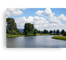 Alouette River 2 Canvas Print