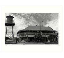 Shamrock Hotel - Townsville Australia Art Print
