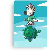 Zebra Crossing Canvas Print
