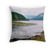 Loch Duich Throw Pillow