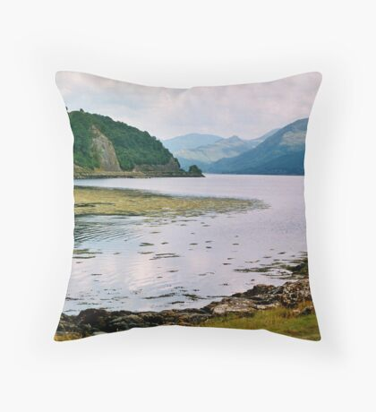 Loch Duich Throw Pillow