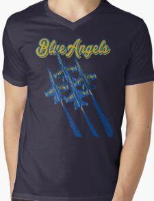 Blue Angels v2 Mens V-Neck T-Shirt