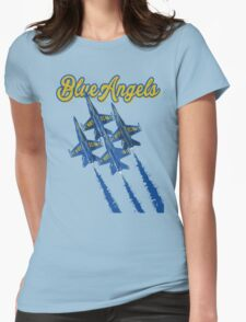 Blue Angels v2 Womens Fitted T-Shirt