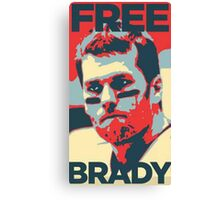 Free Brady Deflate Gate Tom Patriots Canvas Print