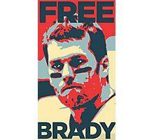 Free Brady Deflate Gate Tom Patriots Photographic Print