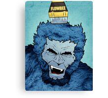 Flow-Beeast Canvas Print