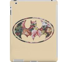 Floral Batman #2 iPad Case/Skin