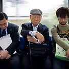 Sleeping Yokohama Commuters by superpope
