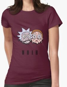 Reck n Melty - Fanmade Rick and Morty Design Womens Fitted T-Shirt
