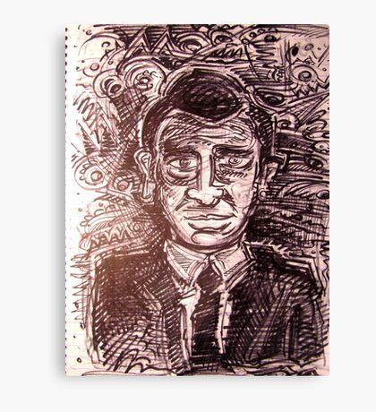 Rod Serling Canvas Print