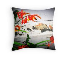 The Beauty that can't be seeing with the naked eye Throw Pillow