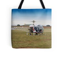 Bell 47 Helicopter Tote Bag