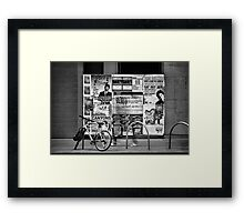The Chaser Framed Print