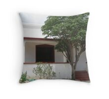 White House in the Barrio Throw Pillow