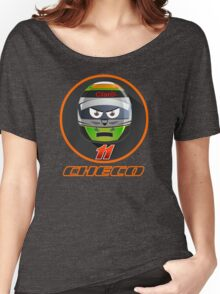Checo PEREZ_Helmet 2015 #11 Women's Relaxed Fit T-Shirt