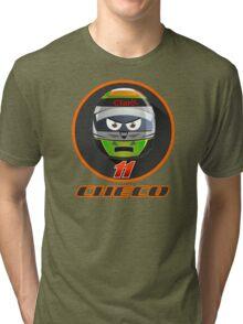 Checo PEREZ_Helmet 2015 #11 Tri-blend T-Shirt