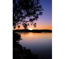 Sunset Tweed River Photographic Print
