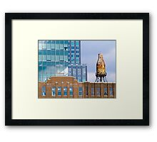 Glass, Brick and a Bottle of Milk Framed Print