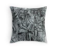 The Dacians Sue For Peace ,Trajan's Column Throw Pillow