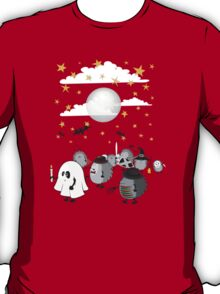 halloween hedgehogs party gang T-Shirt