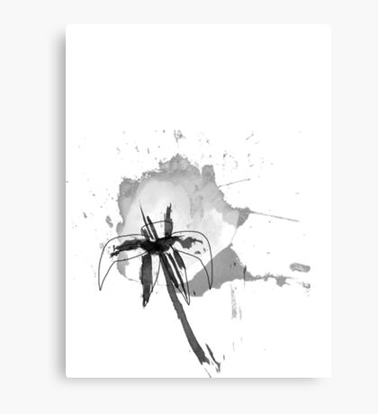 Water(color) lily Canvas Print