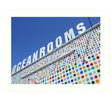 Ocean Rooms Art Print