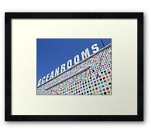 Ocean Rooms Framed Print