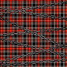 Red Plaid and Chains by GrimDork