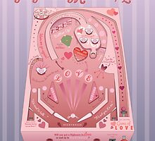 Pinball Machine of Love Infographic by katierutherford