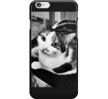 Buffy in Black and White iPhone Case/Skin