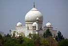 Taj Mahal, Agra, India. by John Mitchell