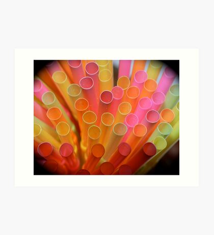 Sip the Colors Art Print