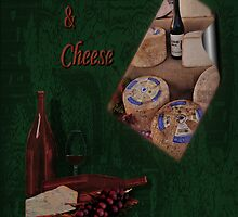 Wine & Cheese by MaluC