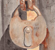 Prison Lock by Ken Powers