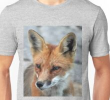Red Fox Portrait Unisex T-Shirt