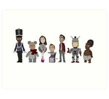 Abed's Uncontrollable Christmas - Group Art Print