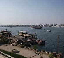 Boat on the Nile by GEAN