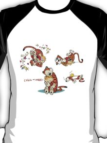 Calvin and Hobbes all moment in day T-Shirt