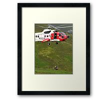 Mountain Rescue Framed Print