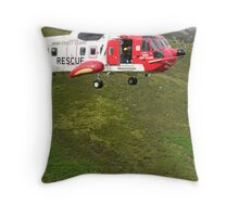 Mountain Rescue Throw Pillow