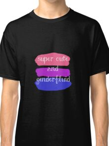 Super Cute and Genderfluid Classic T-Shirt