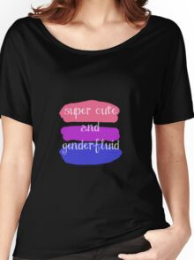 Super Cute and Genderfluid Women's Relaxed Fit T-Shirt