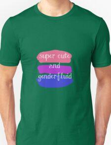 Super Cute and Genderfluid T-Shirt