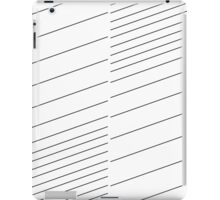 blinds, lines, stripes iPad Case/Skin